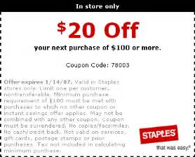 staples business coupons staplestag archive for staples archive at probargainhunter