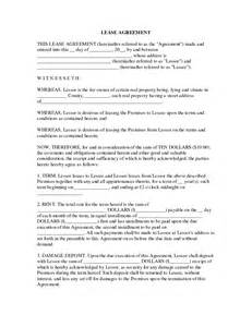 tenants lease agreements templates tenancy agreement template free pdf
