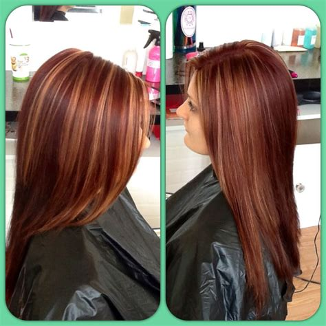 pictures of dimensional hair colors red hair color dimensional color highlights can t wait