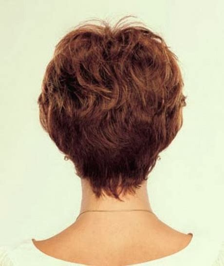 women short short hair styles front and back back view of short haircuts