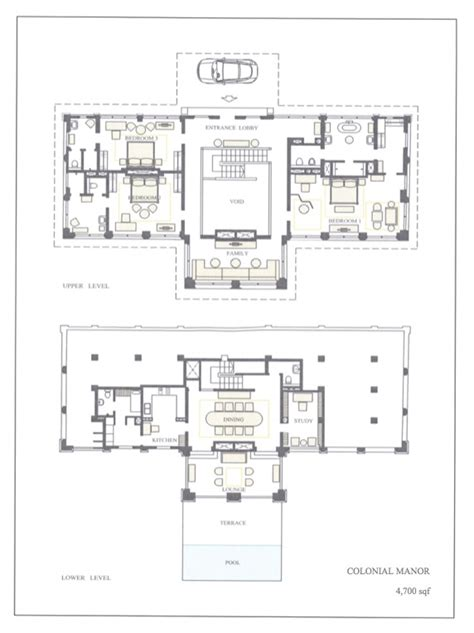 Colonial Home Plans And Floor Plans Singapore Luxury Homes For Rent The Club At Capella