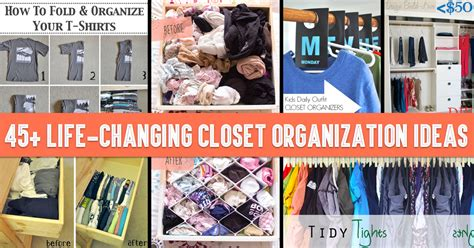 45 life changing closet organization ideas for your functional closet organization ideas for small space