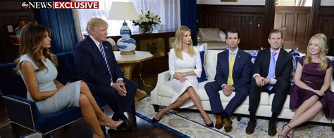 the trump family transcript george stephanopoulos interviews trump family
