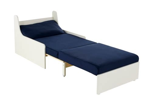 Stompa Sofa Bed Stompa Unos Single Chair Bed Blue Furniture