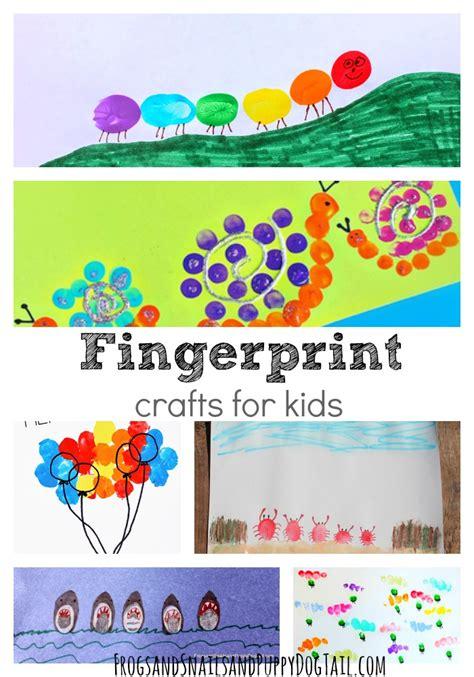 fingerprint crafts for crafts and fingerprints