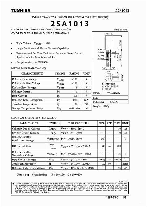 a1013 2151286 pdf datasheet ic on line