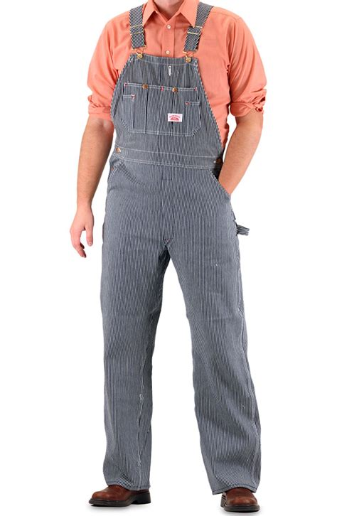 House Overalls by House Overall Hickory Stripe