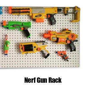 Nerf Gun Rack For Sale by Pegboard Perforated Hardboard Chiltern Timber