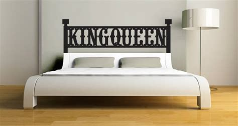 headboard decal queen black king and queen quotes quotesgram