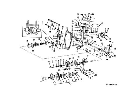 Figure 20 Mechanical Governor Exploded View