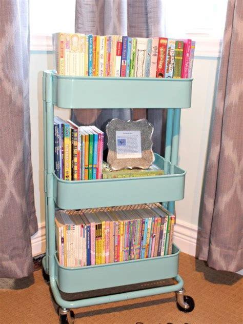 kids book storage ideas storage ideas the best little cart ever raskog cart