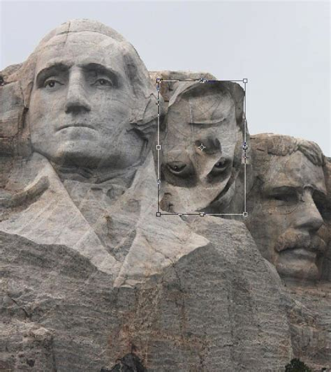 Photoshop Guide The Making Of Mount Rushmore Pxleyes Com Mount Rushmore Photoshop Template