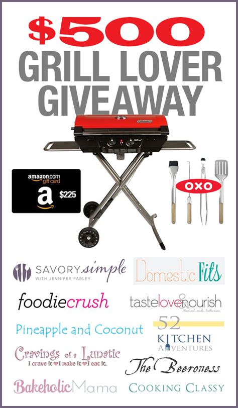 Grill Sweepstakes - grill giveaway 52 kitchen adventures