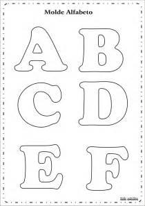 molde letras do alfabeto ideia criativa gi barbosa