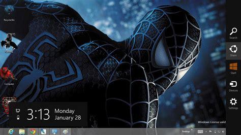 Themes For Windows 7 Spiderman 3 | download gratis tema windows 7 black spiderman 3 theme