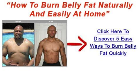 way to burn stomach and get a flat abdomen