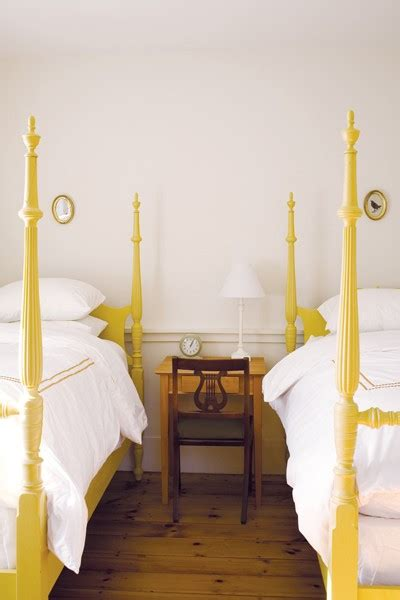Yellow Painted Twin Bed Frames Hues Cues Yellow Bed Frame