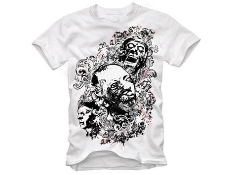 T Shirt Baju Kaos David Bowie Black t shirt design vector material free vector psd