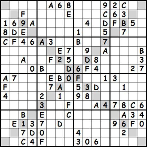 printable sudoku puzzles uk 16 x 16 printable sudoku