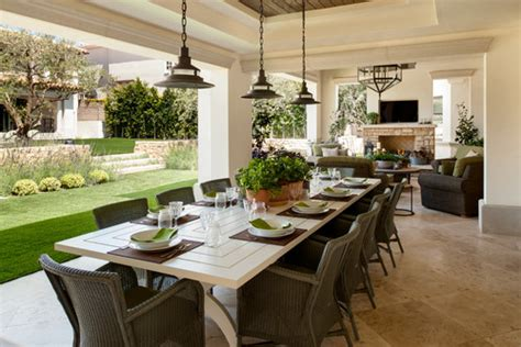Houzz Outdoor Patios by Lights Over Patio Table Outside