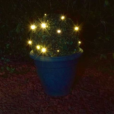 Kingfisher Solar Powered Led Topiary Ball 27cm On Sale Kingfisher Solar Lights