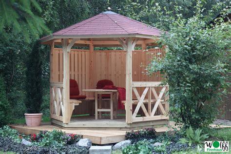 Rund Pavillon Holz by Holz Pavillon Offen Gartenpavillon 300x250cm Pavillon