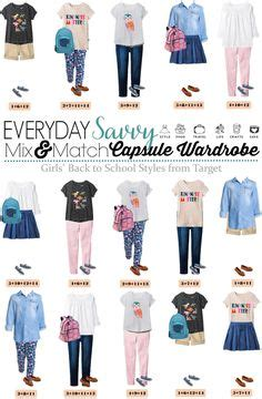 Mix And Match Wardrobe Pieces by School Clothes For Mix And Match Tween