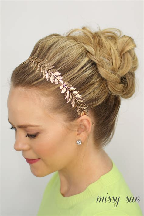 Wedding Updos Braided Bun by Braided Bun Updo