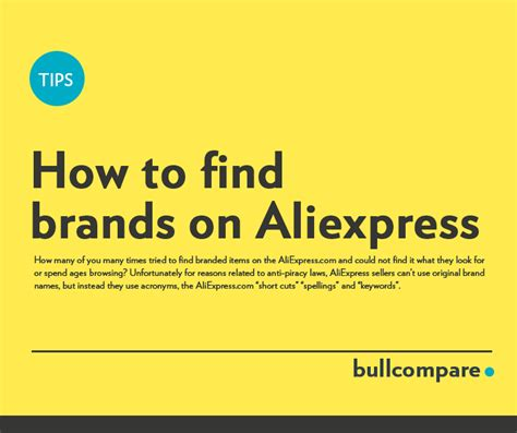aliexpress brands how to find brands on aliexpress 2018 updated bull compare