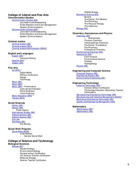 Tarleton Mba Program by Tarleton State Manual 2015 2016