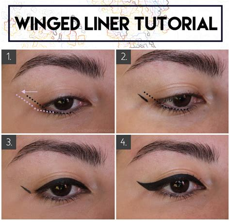 eyeliner tutorial for small eyes winged eyeliner for hooded small eyes techniques and