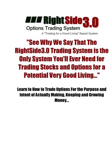 option swing trading rightside trading system micro swing trading for better