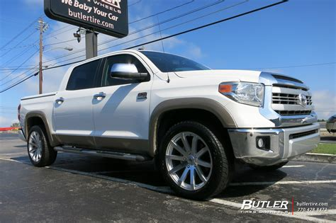 toyota tundra   black rhino traverse wheels exclusively  butler tires  wheels