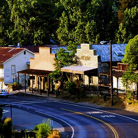 country towns napa valley to gold country sunset