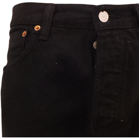 Blackdenim Original Mens Levi S 501 Black Denim Jean New Original Levi Strauss