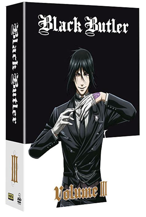 Black Butler Vol 17 1 dvd saison 1 volume 3 black butler dvd s 233 ries