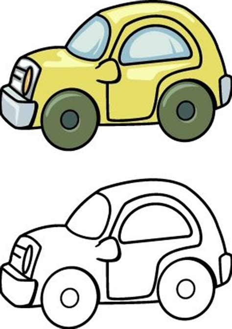 toy car coloring pages printables  kids car drawing