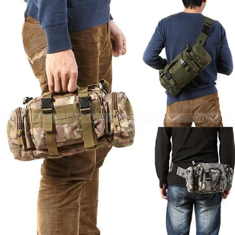 New Tas Bag Waist Bag Waistbag Army Tactical 3p tactical waist pack hiking ride waist pack chest pack shoulder bag outdoor travel waterproof