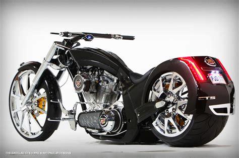 Kaos Motor American Choppers Nmpf american chopper cadillac cts v bike by paul jr designs