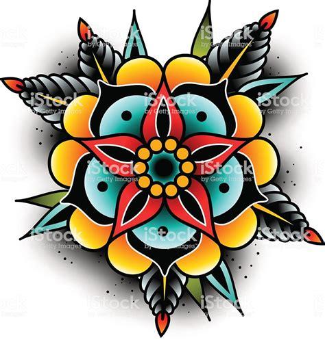 fiori school school flower stock vector more images of