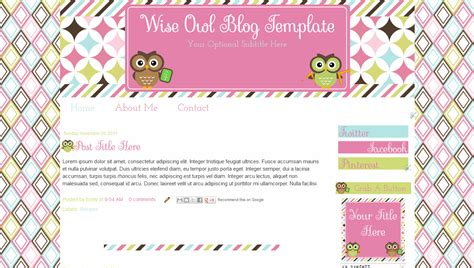 blogger themes kawaii 9 best images of blogger templates blog free blog