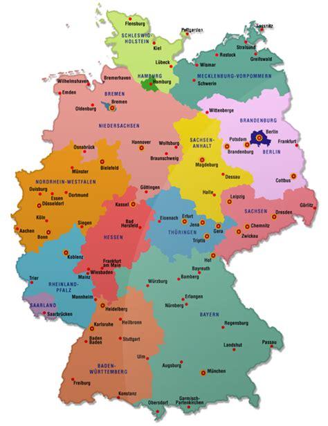 karta deutschland deutschland karte region bild deutschlandkarte