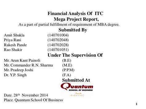 Itc Mba by Itc