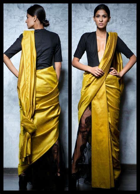 saree drapes how to wear designer saree dhoti saree pant style saree