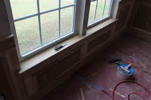Building A Window Sill Our Home From Scratch