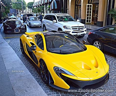mclaren p1 spotted in beverly california on 11 25 2014