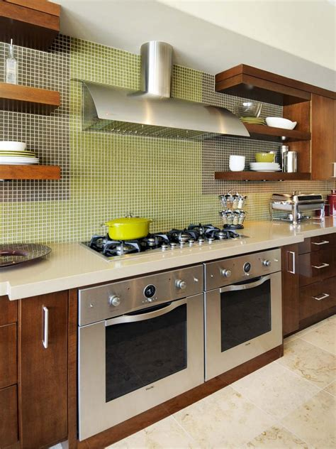 Peel And Stick Backsplashes For Kitchens Peel And Stick Wall Tile Backsplash With Contemporary Green And Brown Self Stick Backsplash