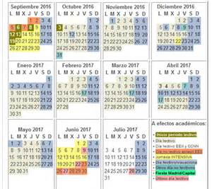 Calendario 2018 Comunidad De Madrid Calendarioescolar