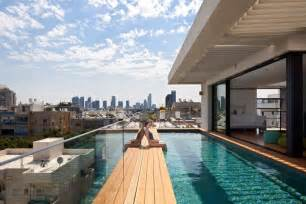 Good Homes Interior terrace infinity pool tops off a classy contemporary home