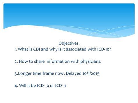 why is st associated with clinical documentation improvement ppt